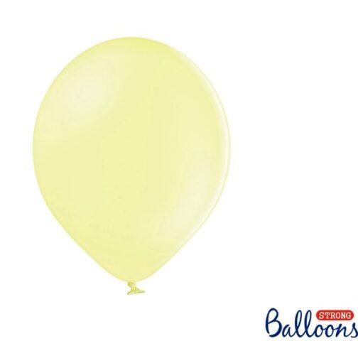 Σετ Μπαλόνια – Κίτρινο Παστέλ (10 τμχ)