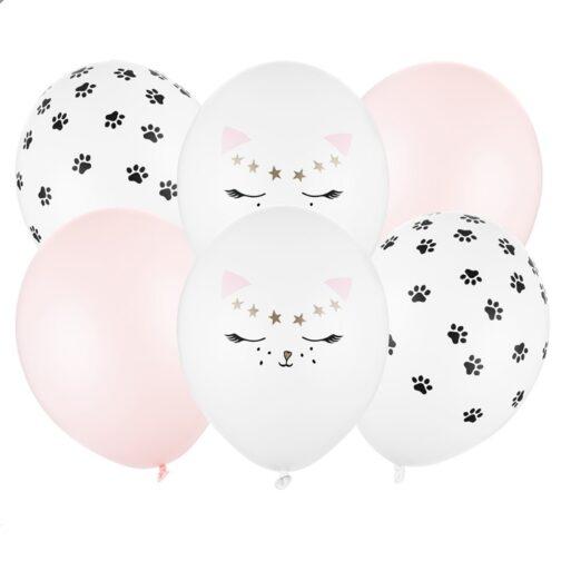 Μπαλόνια – Γατούλα (6 τμχ)