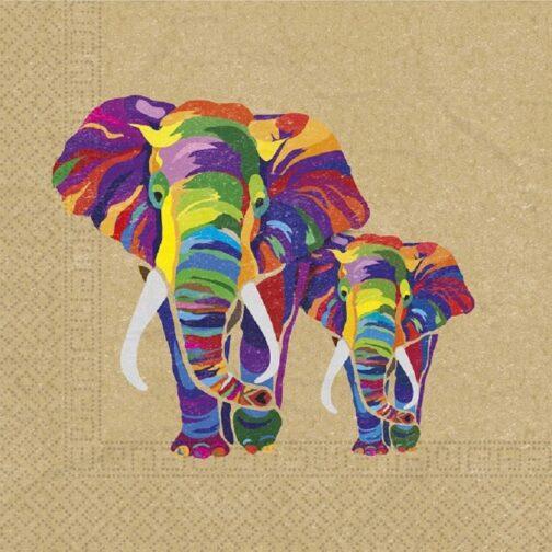 Χαρτοπετσέτες – <br>Africa Jungle Eco (20 τμχ)