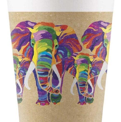 Χάρτινα Ποτήρια – <br>Africa Jungle Eco (8 τμχ)