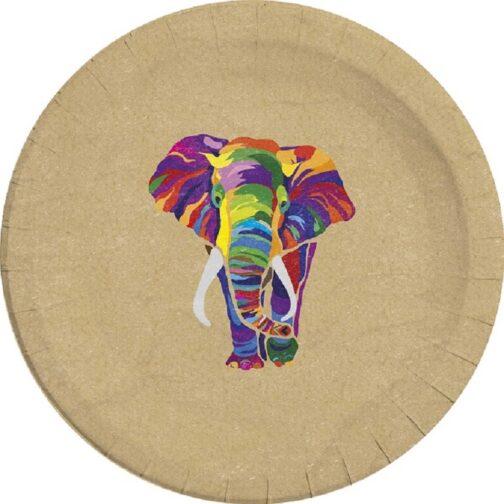 Χάρτινα Πιάτα – Africa Jungle Eco (8 τμχ)
