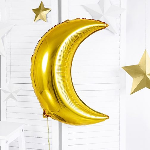 Μπαλόνι foil – Φεγγάρι Χρυσό