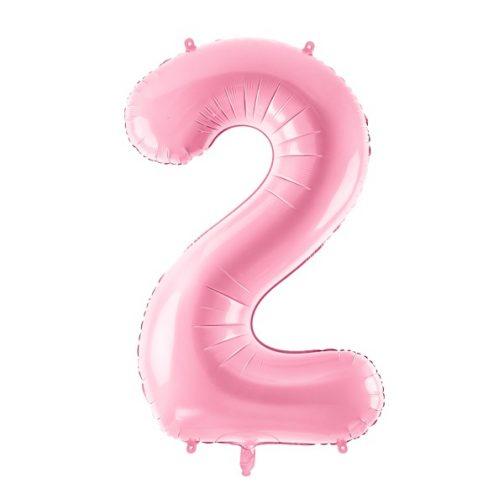 Μπαλόνι Αριθμός 2 Ροζ – 86cm