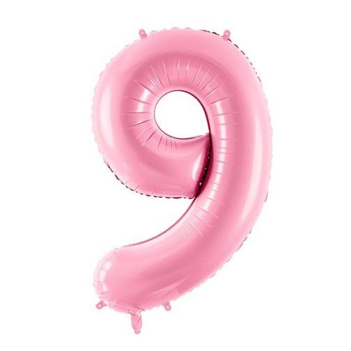 Μπαλόνι Αριθμός 9 Ροζ – 86cm
