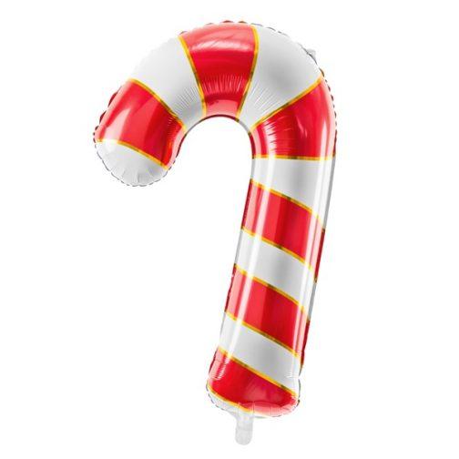 Μπαλόνι foil – Ζαχαρωτό Μπαστούνι Κόκκινο