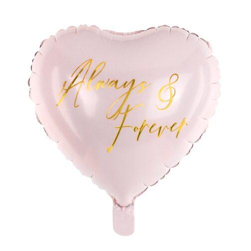 Μπαλόνι foil Καρδιά –<br>Always & Forever
