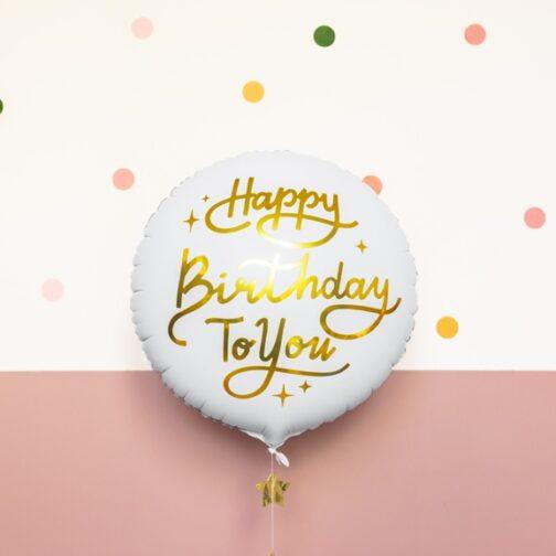 Μπαλόνι foil – Happy Birthday To You