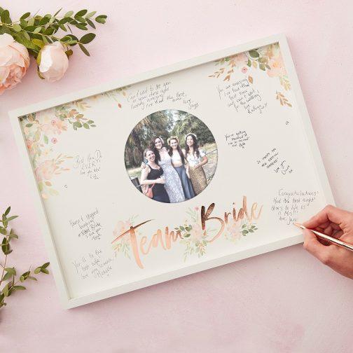 Ευχολόγιο Κορνίζα – Team Bride