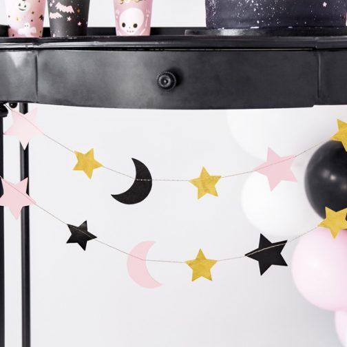 Γιρλάντα – Φεγγάρια και Αστέρια