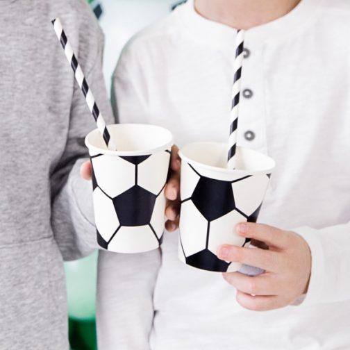 Χάρτινα Ποτήρια – Ποδόσφαιρο <br> (6 τμχ)