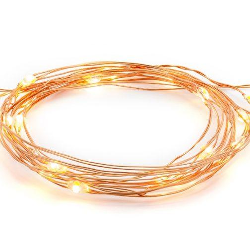 Επιτραπέζια Φωτάκια (LED) – <br> Ροζ Χρυσό