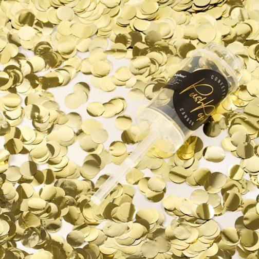 Εκτοξευτήρας Κομφετί – Χρυσό
