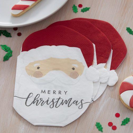 Χαρτοπετσέτες – Άγιος Βασίλης <br> (16 τμχ)