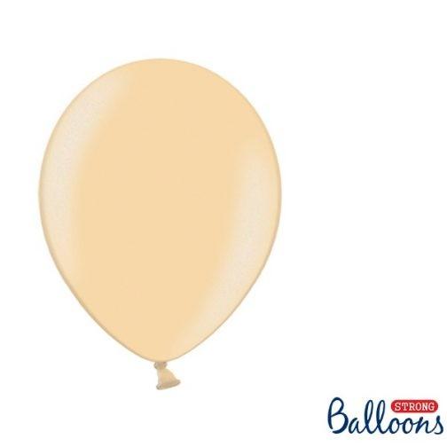 Σετ Μπαλόνια – Πορτοκαλί Μετταλικό (10 τμχ)