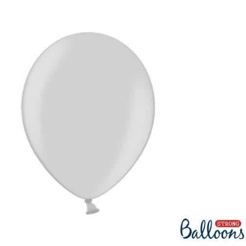 Σετ Μπαλόνια – Ασημί (10 τμχ)