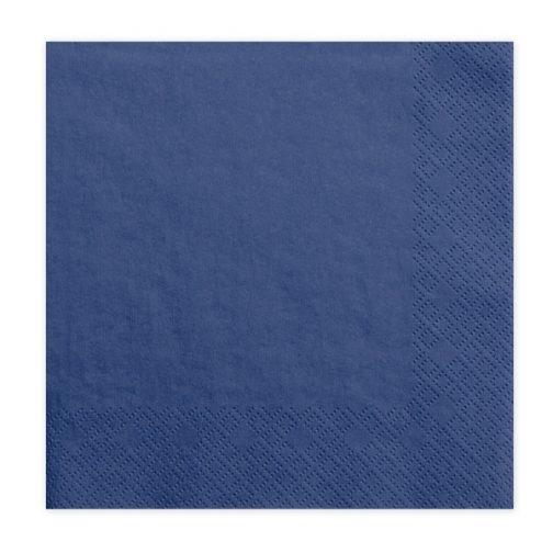 Χαρτοπετσέτες – Μπλε (20 τμχ)