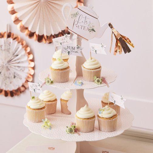 Stand Για Cupcakes – Let's ParTea