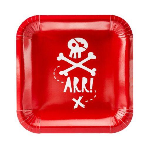 Χάρτινα Πιάτα – Πειρατής (6 τμχ)