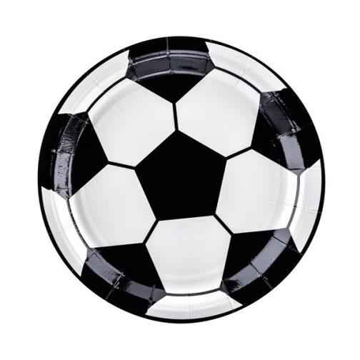 Χάρτινα Πιάτα – Ποδόσφαιρο <br> (6 τμχ)