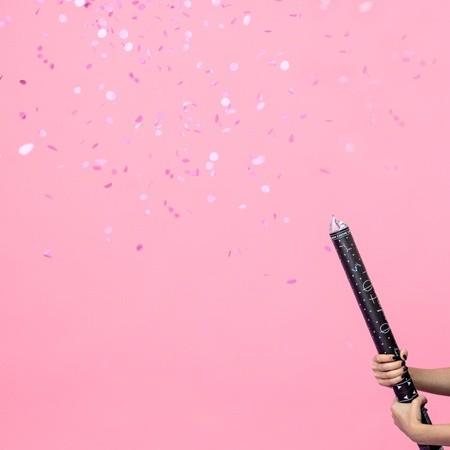 Εκτοξευτήρας Κομφετί Ροζ <br>– Ready To Pop
