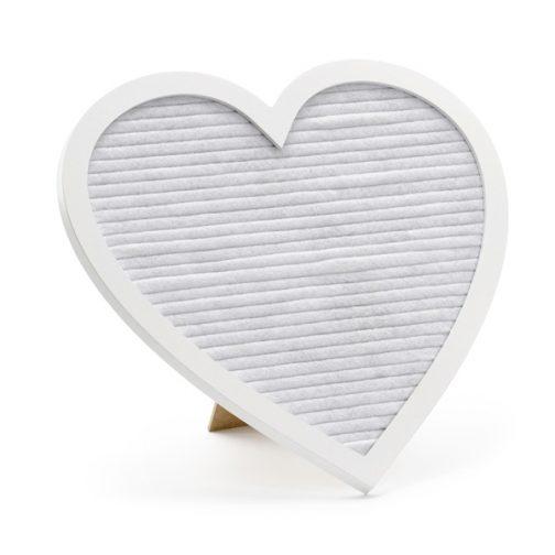 Πίνακας Με Χρυσά Γράμματα Σε Σχήμα Καρδιάς
