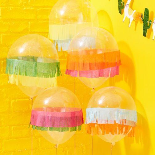 Μπαλόνια Με Κρόσια (5 τμχ)