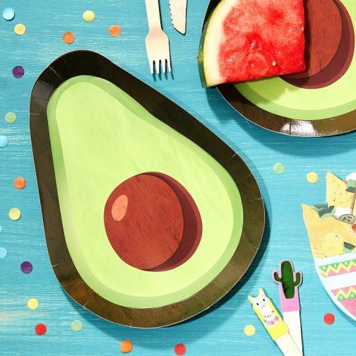 Χάρτινα Πιάτα – Viva La Fiesta <br> (8 τμχ)