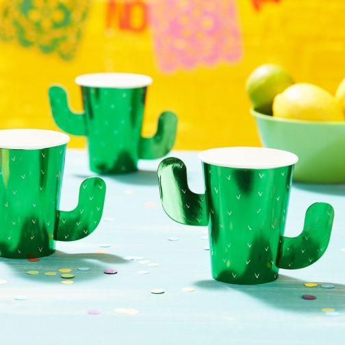 Χάρτινα Ποτήρια – Viva La Fiesta <br> (8 τμχ)