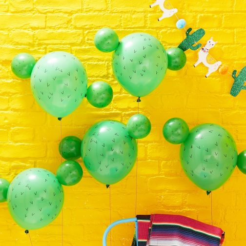 Μπαλόνια Κάκτος (5 τμχ)