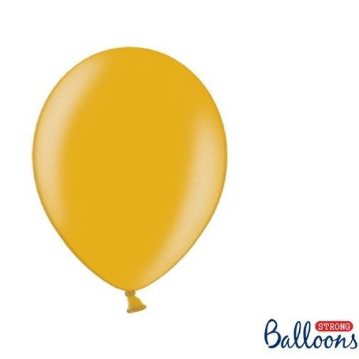 Σετ Μπαλόνια – Χρυσά (10 τμχ)