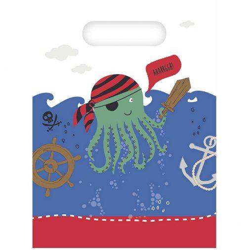 Σακουλάκια δώρων – Πειρατές της Θάλασσας (6 τμχ)