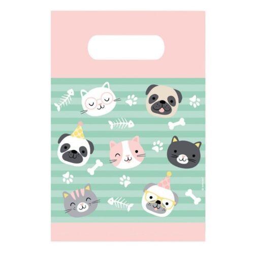 Σακουλάκια Δώρων – Hello Pets <br>(8 τμχ)