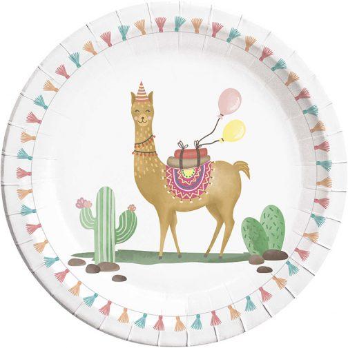 Χάρτινα Πιάτα – Λάμα (8 τμχ)