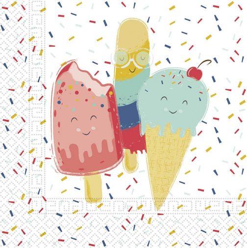 Χαρτοπετσέτες – Παγωτό (20 τμχ)